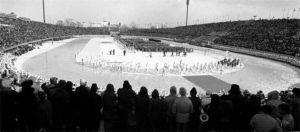 1972年日本札幌冬奥会开幕式现场