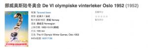 挪威奥斯陆冬奥会